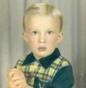 Trump as a child