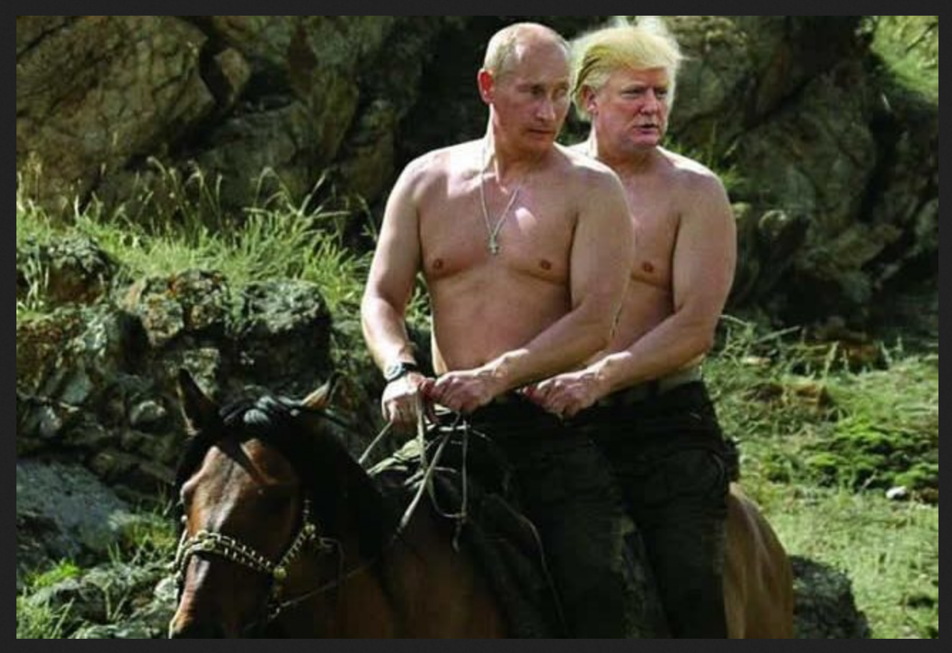 Vlad and Donny horseback 2