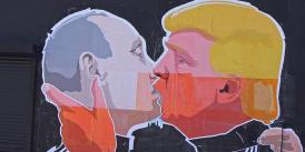 Putin Kissing Trump